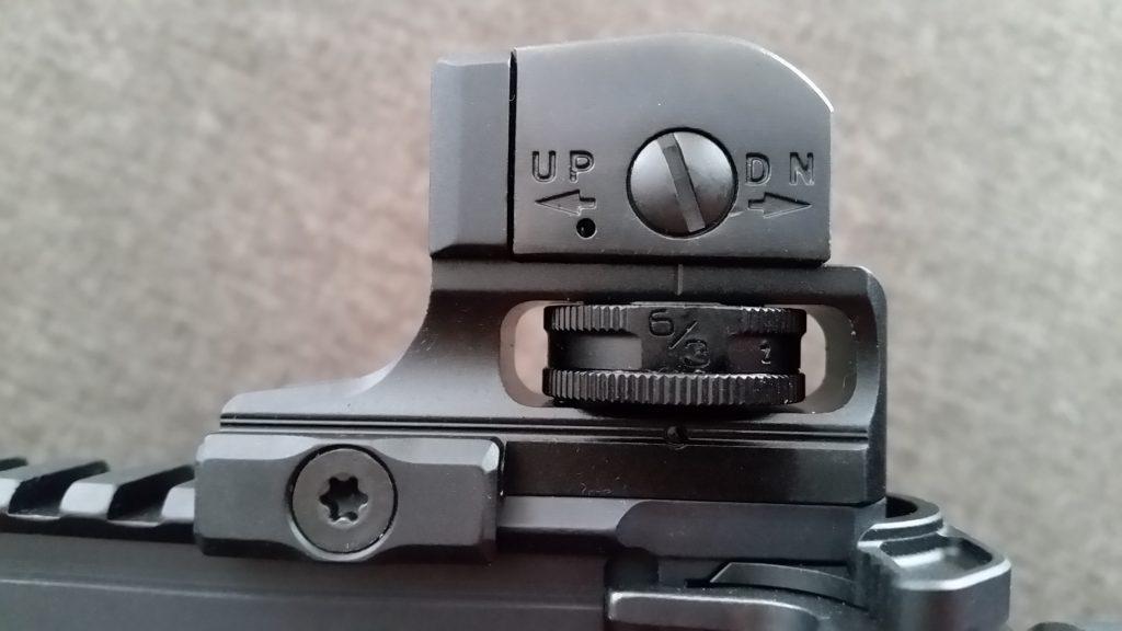 UTG Rear SLim Sight