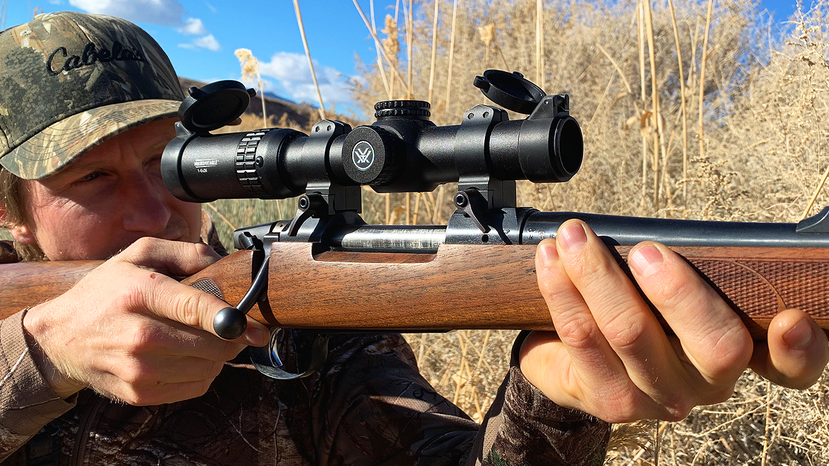 Bolt Action With a Vortex Scope