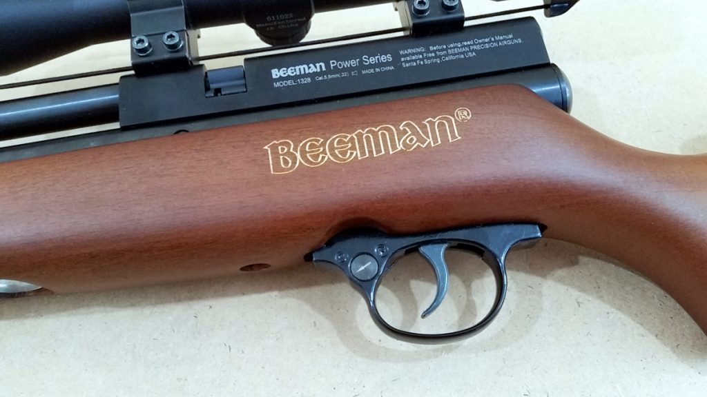 Beeman Chief II Breech Brand and Trigger