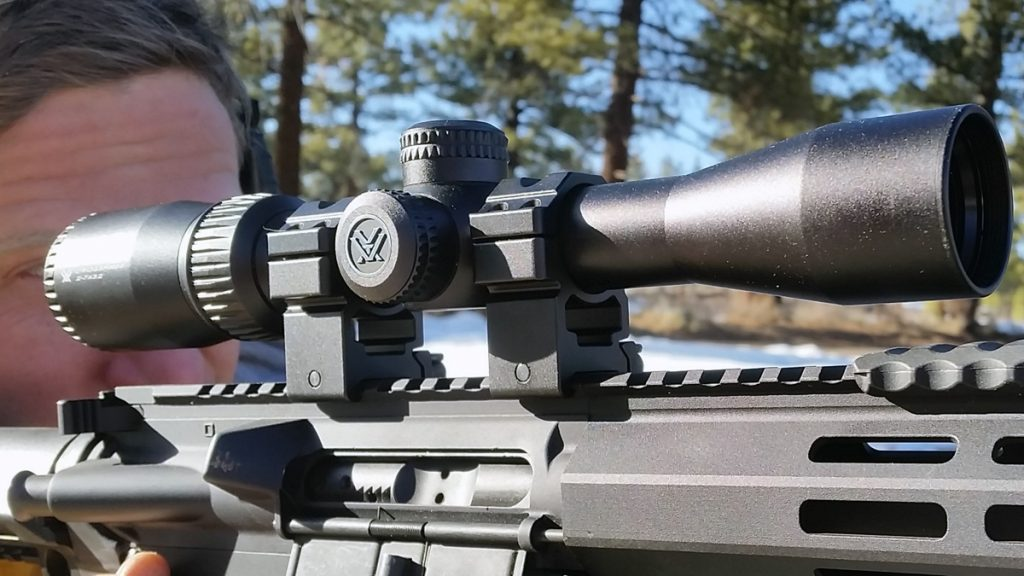 Vortex Crossfire II on an AR-15