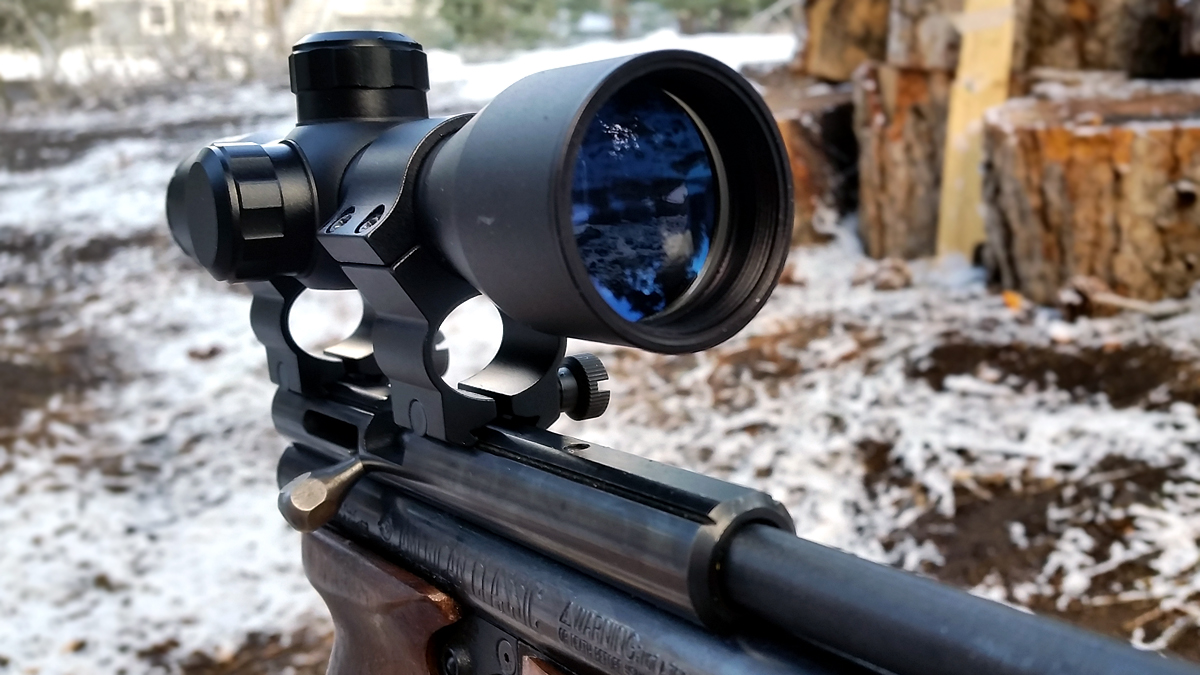 4x32 Compact Scope Objective Lens