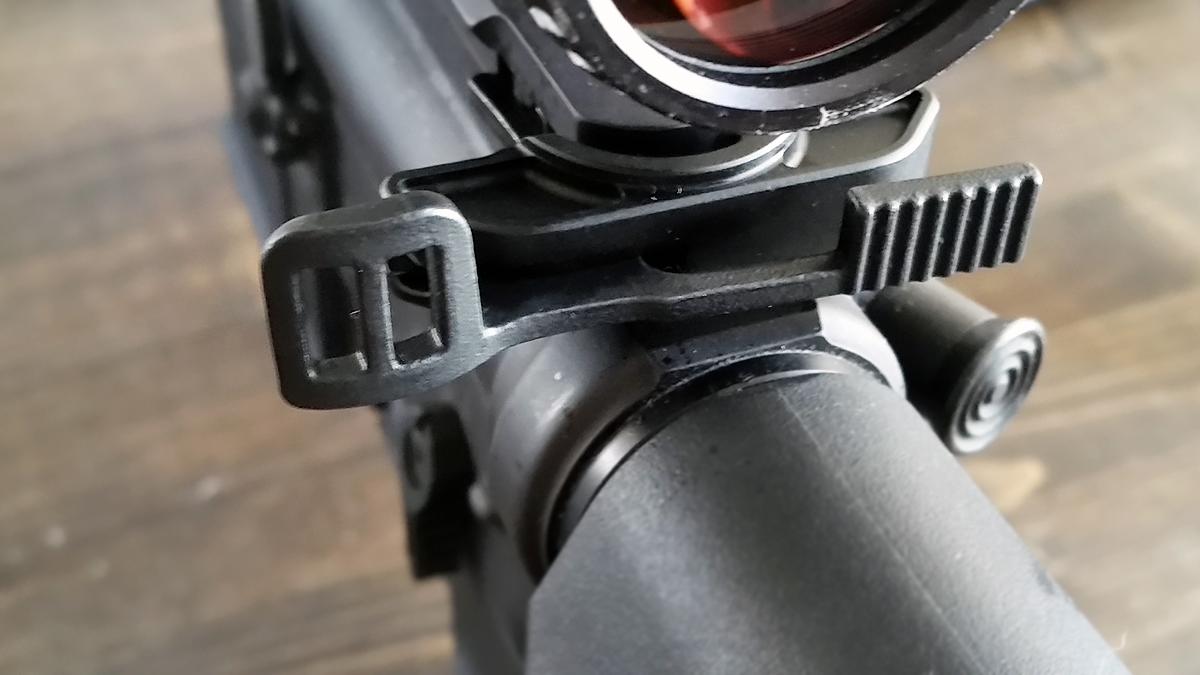 Ambi Charging Handle Latch on AR-15