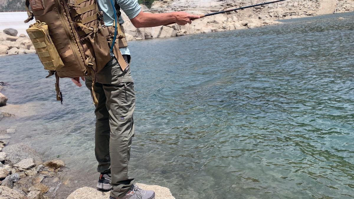 5.11 Tactical Ridge Pants Out Fishing