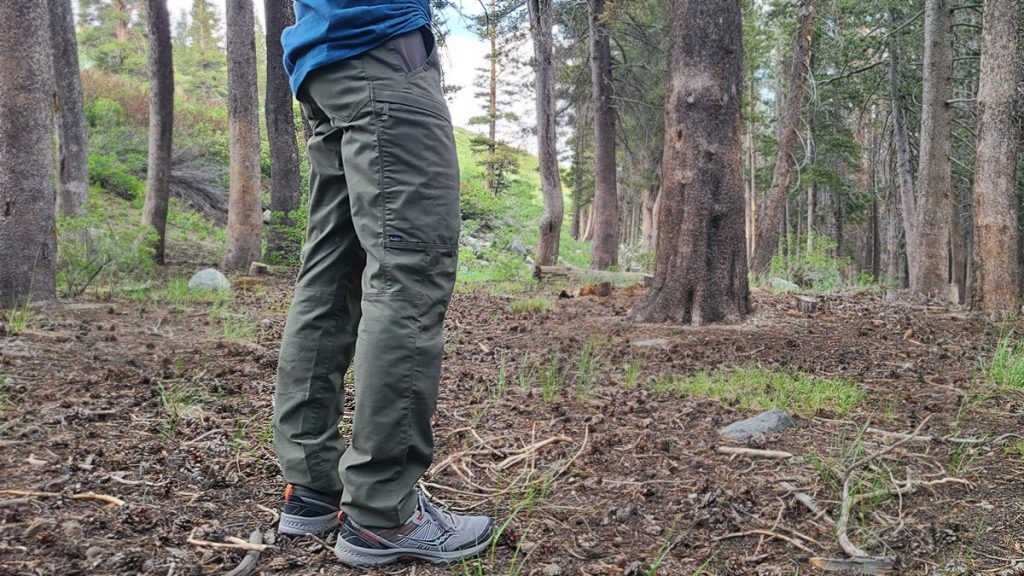 5.11 Tactical Ridge Pants Thigh Lower Leg Fit