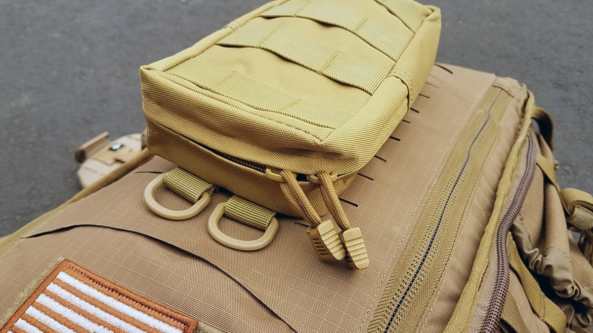 Tacticool EDC Molle Pouch Zipper