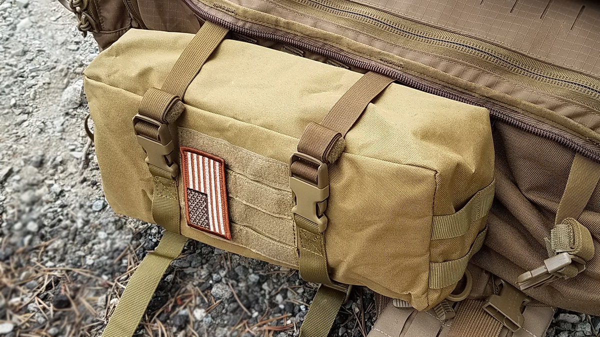 WYNEX Molle Pouch Sling Bag Attached