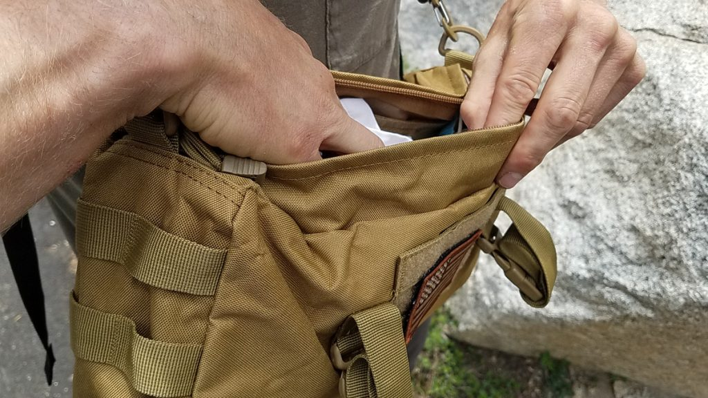 WYNEX Molle Pouch Sling Bag Space