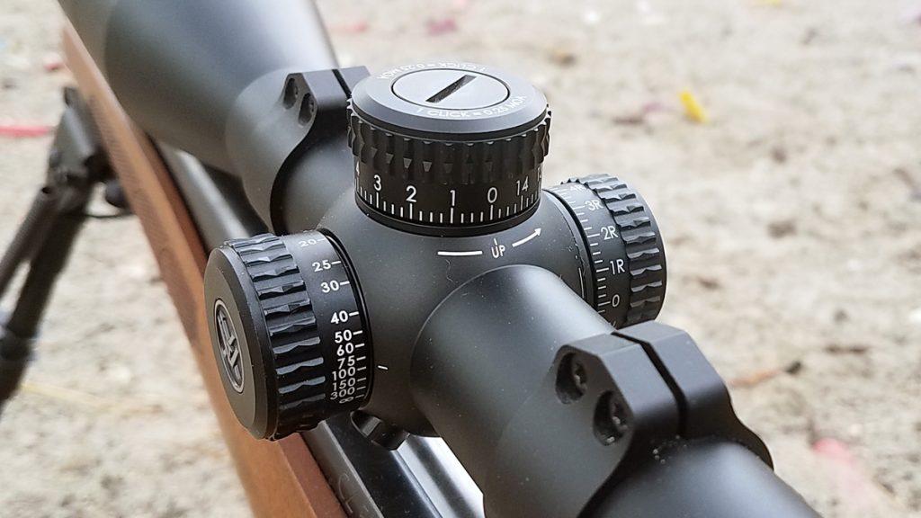 Vortex Diamondback Tactical 6-24x50 FFP Turrets