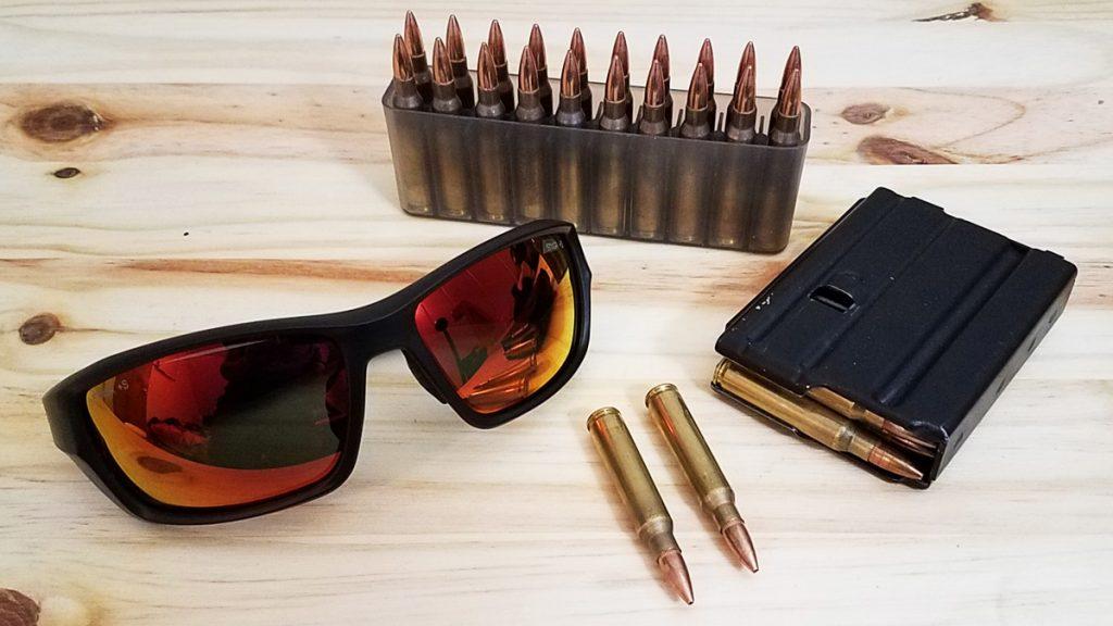 STNGR USA Alpine Ballistic Sunglasses Range Ready