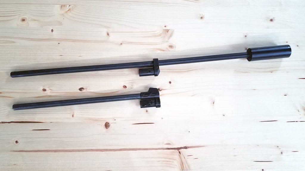 Stock Barrel and 18 inch Barrel